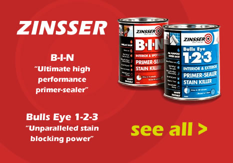 Zinsser paints and primers